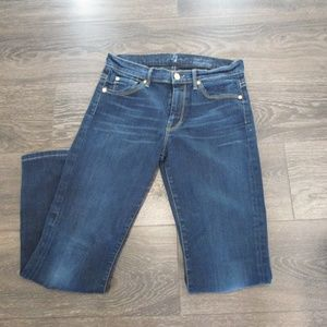 7 for All Mankind Jean's High Waist Straight 28